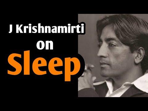 8.ZAC ||  J Krishnamurti on sleep | Ashish Shukla | Iesmyoga | In hindi