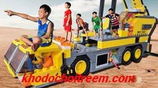Đồ chơi lego cho trẻ em - BOAE về thăm quê ngoại