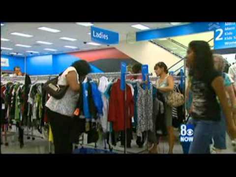 ROSS DRESS FOR LESS S. LAS VEGAS, NV on the News July 2010 (1341_Vegas.mpg)