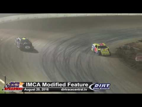 North Central Speedway 8/20/16 IMCA Modified Final Laps