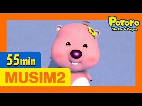 Kompilasi Episode 21-30   Pororo Si Penguin Kecil Musim 2   Animasi Indonesia