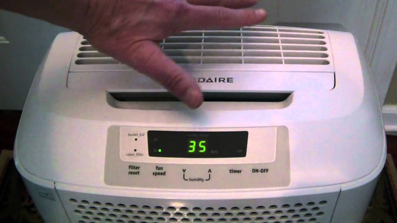 review frigidaire fad704dwd 70 pint dehuidifier youtube rh youtube com frigidaire dehumidifier 70 pint model fdl70s1 manual frigidaire dehumidifier 70 pint fdl70s1 manual