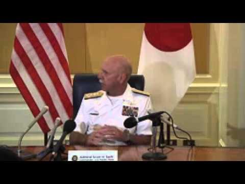 Commander, U S  Pacific Fleet, Japan Roundtable Press Conference