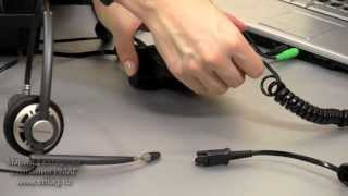 видео Plantronics Voyager Edge UC — Bluetooth-гарнитура для компьютера и мобильных устройств
