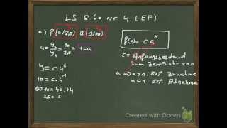 exponentialgleichung aus 2 punkten aufstellen ls ef s 60 nr 4