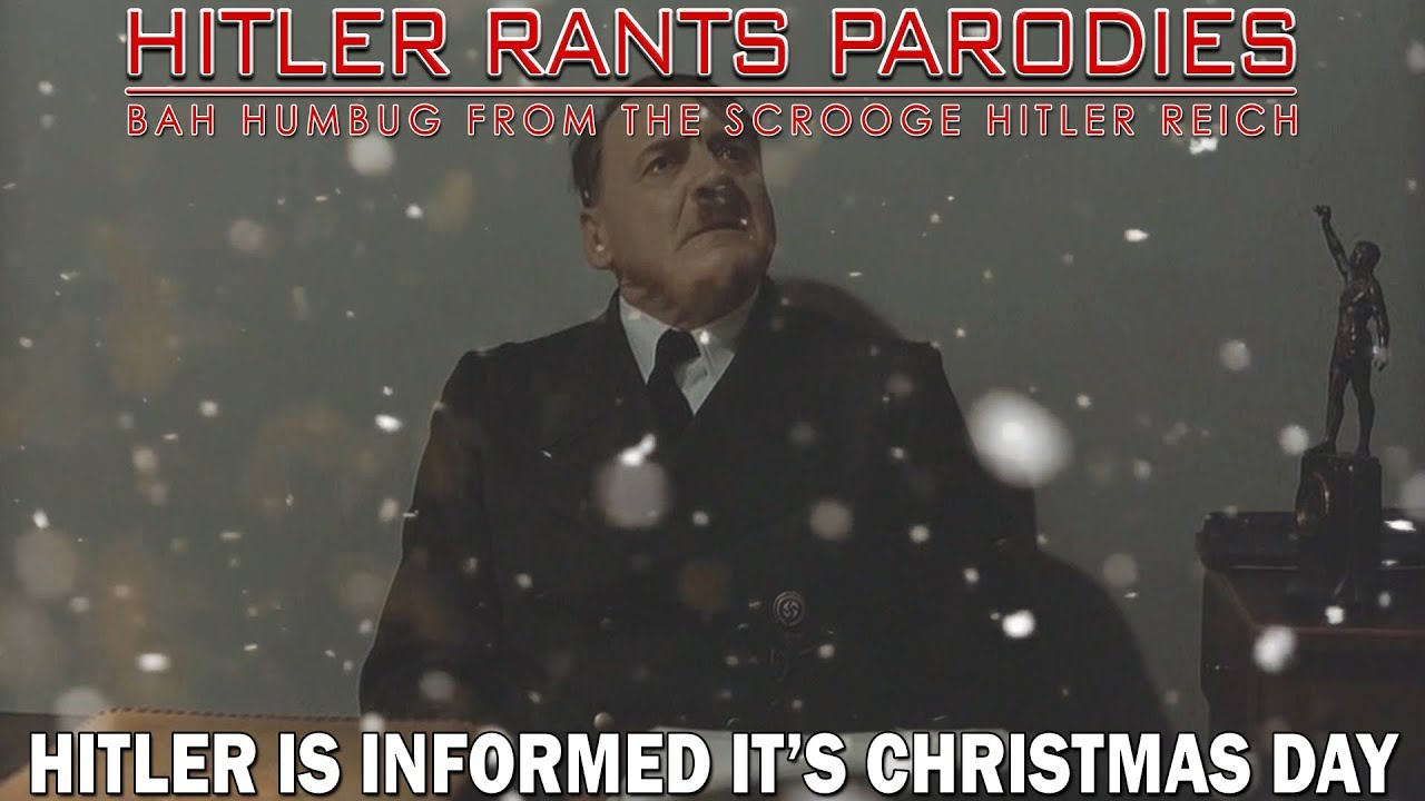 Hitler is informed it's Christmas Day