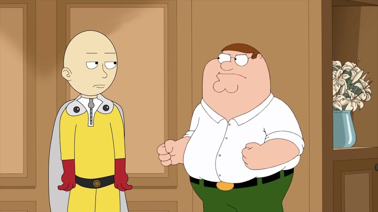 If One Punch Man Was In Family Guy Youtube