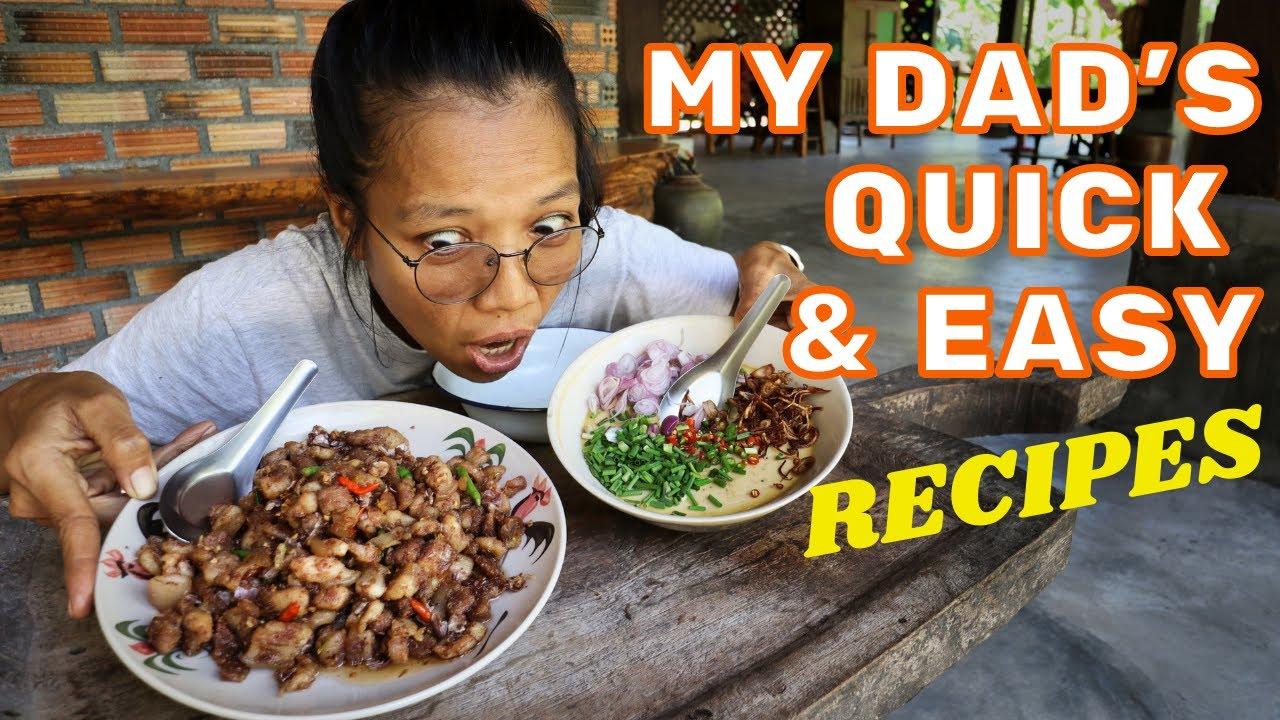 Khai Dtun und Khua Khoey - zwei einfache, authentische Gerichte von Koh Samui