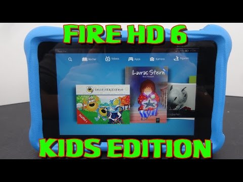 """AMAZON FIRE HD 6 KIDS EDITION TABLET"" -Vorstellung"