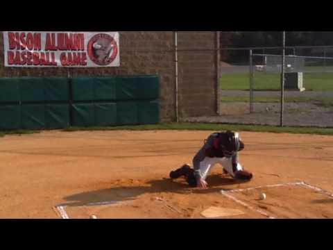 Zane Morgan (Catcher) Clearfield Area High School 2017