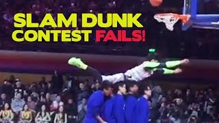 Not in the NBA - Funny Slam Dunk Contest Fails Around the World