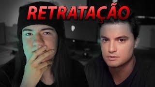 RETRATAÇÃO ao Felipe Neto com caso suzano
