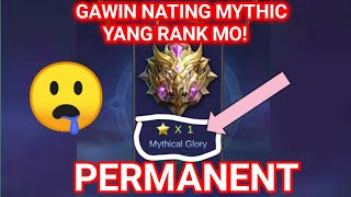 Gambar cover GAWIN NATIN MYTHIC | ANG RANK NYO!! Patch Lylia • Mobile Legend...