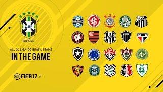 Patch Brasileirão- FIFA 17 / COMO TER JOGADORES DO BRASILEIRÃO NO SEU FIFA 17 / MOD BRASILEIRÃO
