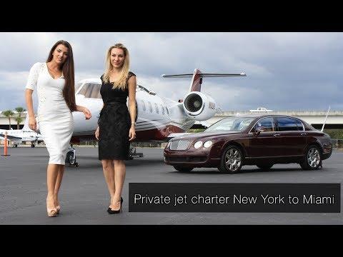 Private Jet Charter New York, NY to Miami, FL
