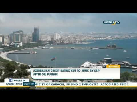 Azerbaijan credit rating cut to junk by S&P after oil plunge - Kazakh TV