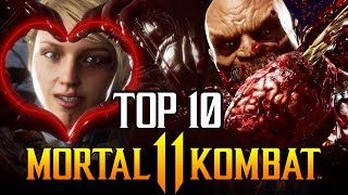 Mortal Kombat 11 - Top 10 Best Fatalities so Far!!