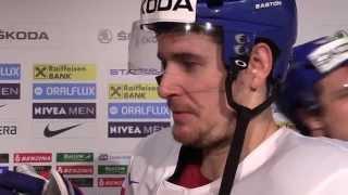 Roman Červenka po utkání s Rakouskem