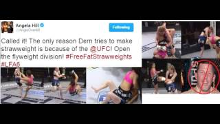 lfa 6 mackenzie dern vs katherine roy post fight analysis full detailed breakdown