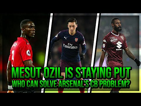 Mesut Ozil Is Staying Put & Who Can Solve Arsenal's CB Problem? | AFTV Transfer Daily