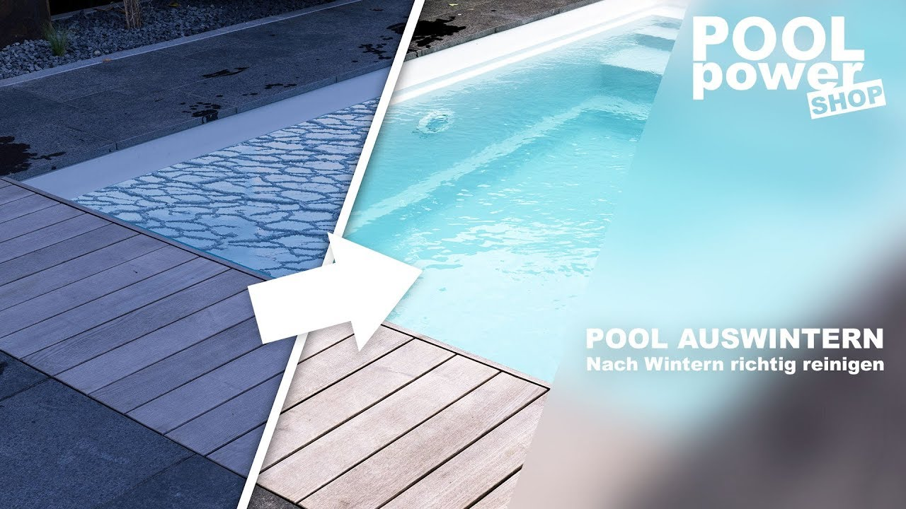 pool auswintern den pool nach dem winter richtig. Black Bedroom Furniture Sets. Home Design Ideas