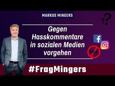 Gegen Hasskommentare in sozialen Medien vorgehen | #FragMingers