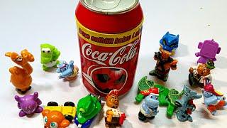 Coca Cola Dose -Kinderüberaschungsei Spielzeuge -fun kids video -Çizgi Tv