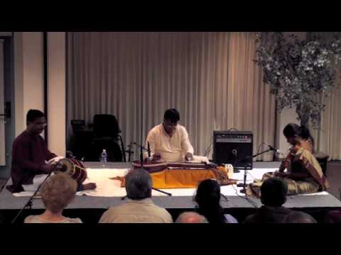 Chitravina N. Ravikiran - Part 1 of 2 - Slide Exhibition Concert Series