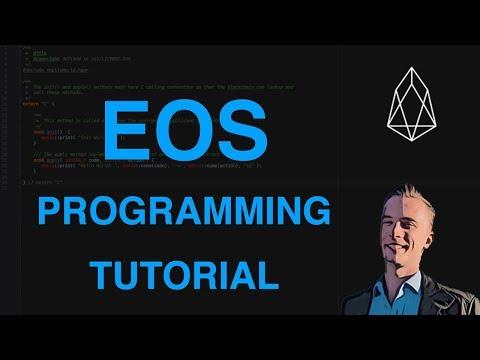EOS Smart Contract Programming Tutorial - Hello World