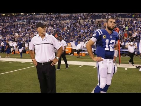Chuck Pagano, Scott Tolzien and Andrew Luck's Lack of Help