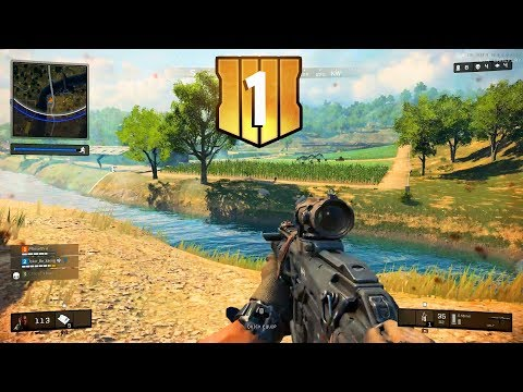 COD Blackout Beta #1 - Welcome To Battle Royale!