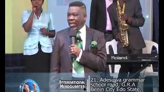 Bishop Abraham Chigbundu - Dont give up  part 1