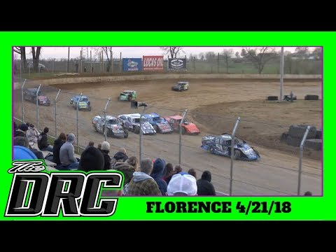 Florence Speedway | 4/21/18 | Open Wheel Modifieds