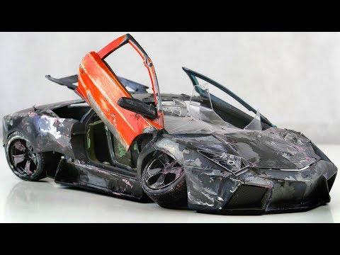 Restoration Abandoned Lamborghini Reventon Rebuilding Model Car By Good Restore