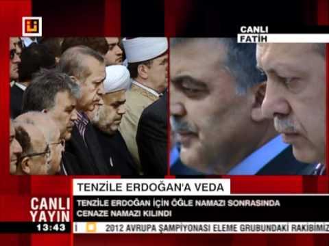 Başbakan Recep Tayyip Erdoğan Annesi Tenzile Erdoğan Cenaze Namazı