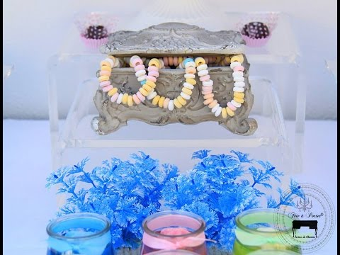 Mermaid Party via Little Wish Parties childrens party blog
