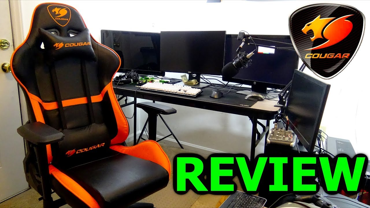 Cougar Armor Gaming Chair Review Are Gaming Chairs Worth