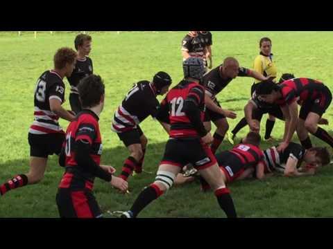 Deutsche U18 Rugby Meisterschaft 2016. Berliner RC - SC 1880 Frankfurt 1H