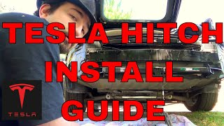 Tesla Motors Model S: Trailer Hitch Install Guide    How-To