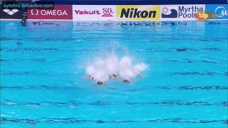 Japan (JPN) Technical Team Preliminary Kazan World Championships 2015