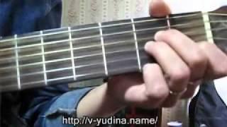 Уроки игры на гитаре - о курсах. Виктория Юдина