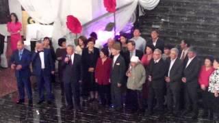 Тост на свадьбе Бикена Алымбекова