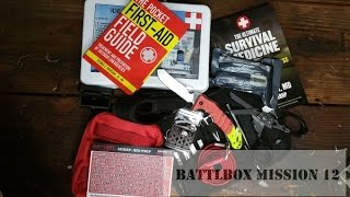 BattlBox Mission 12 Unboxing