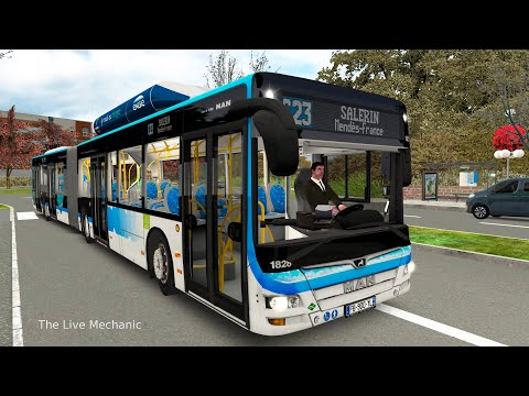OMSI 2 Add-on Saint-Servan / MAN CNG A23 |