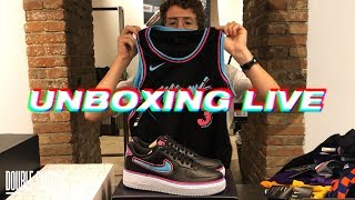 UNBOXING LIVE: City Edition Jerseys, Jordan 3 Chlorophyll