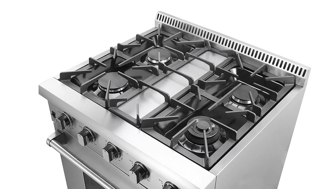 Thor Kitchen Gas Range Reviews 30 Inch Hood Unbox