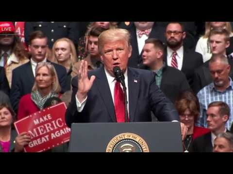FULL: President Donald Trump Rally Speech HAWAII BLOCKS TRAVEL BAN, ObamaCare, Nashville Tennessee