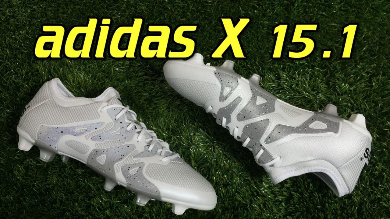 cheaper 49647 ae188 Adidas X15.1 White/Metallic Silver - Review + On Feet