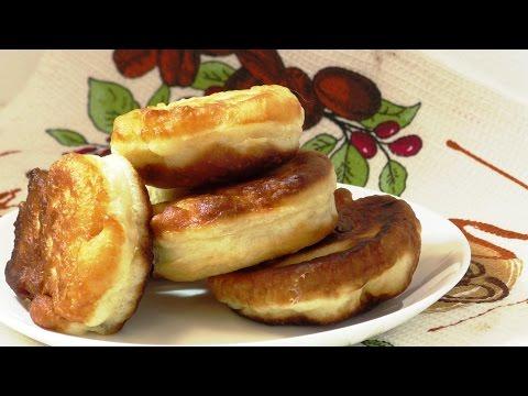 Оладьи на кефире пышные рецепт с фото пошагово Легкие