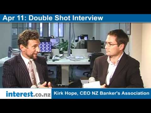 Double Shot Interview: Kirk Hope, CEO NZ Banker's Association with Gareth Vaughan